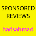 sponsored reviews haris ahmad